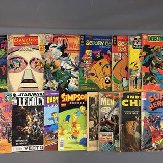 Group of 18 Some Vintage Comics