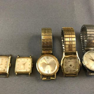 Group of mens watches