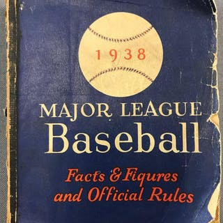 1938 Major League Baseball Facts and Figures
