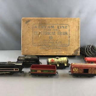 Vintage Marx Stream line electrical train and track