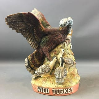 1984 Limited Edition Wild Turkey and Poults No.6 Decanter