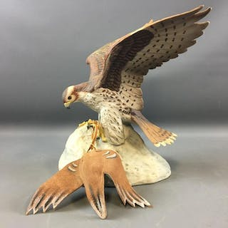 1980 Ski Country Prairie Falcon Limited Edition Decanter