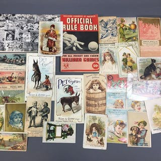 Group of Vintage Trading Cards and more