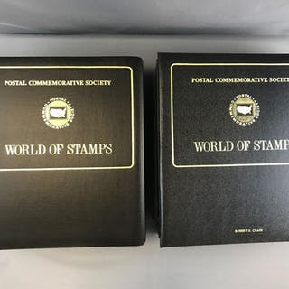 Group of 4 World of Stamps Albums
