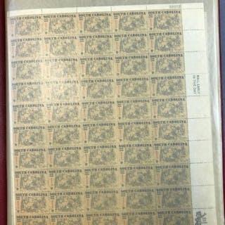 Mint Sheet file of 6c-10c full sheets