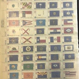 Mint sheet file of full sheets