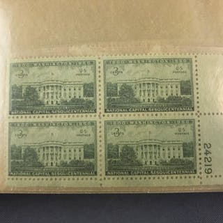 103 1940s-50s mint blocks and plate blocks