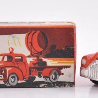 Vilmer Kvalitet No. 468 Rod Presenningsbil Red Lorry Die-Cast Vehicle