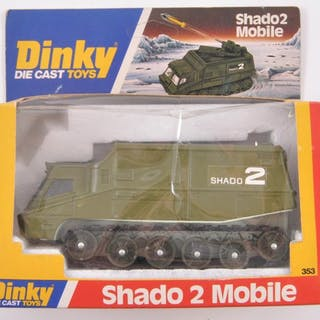 Dinky Toys No. 353 Shado 2 Mobile Die-Cast Vehicle with Original Box