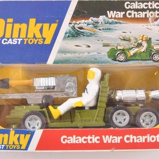 Dinky Toys NO. 361 Galactic War Chariot Die-Cast Vehicle with Original Box