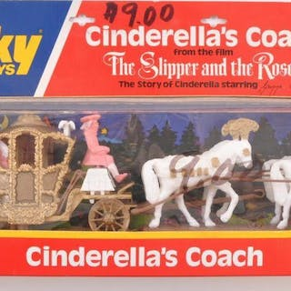Dinky Toys No. 111 Cinderella's Coach Die-Cast Vehicle with Original Box