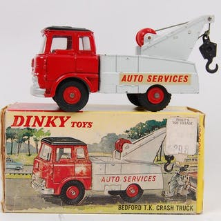 Dinky Toys No. 434 Bedford T.K. Crash Truck with Original Box