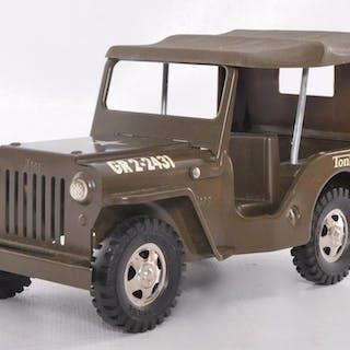 Tonka Toys Pressed Steel Army Jeep