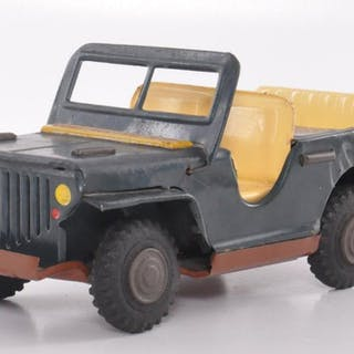 Japanese Tin Construction Jeep