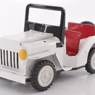 Japanese Tin Friction Patrol #303 Jeep