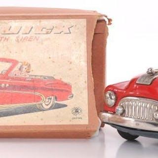 Modern Toys Japanese Tin Litho Super Buick Friction Car with Original Box