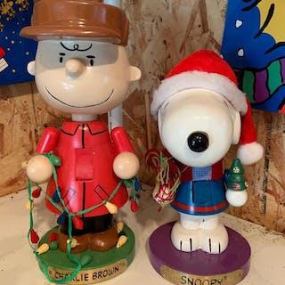 Group of 2 peanuts Christmas nutcrackers