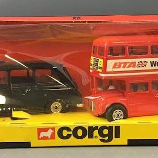 Corgi No. 11 Die-Cast Vehicles In Original Box