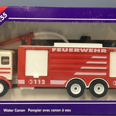 Siku Super Series Water Canon Die-Cast Vehicle In Original Box