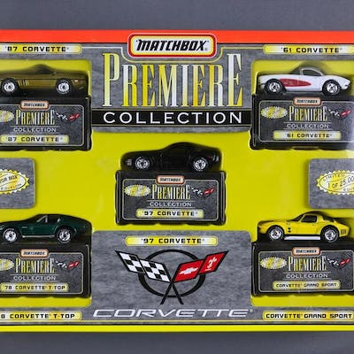 Matchbox Premiere Collection celebrating the 97 Corvette die cast