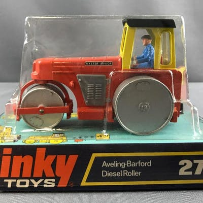 Dinky Toys Aveling-Barford Diesel Roller die cast vehicle in original packaging