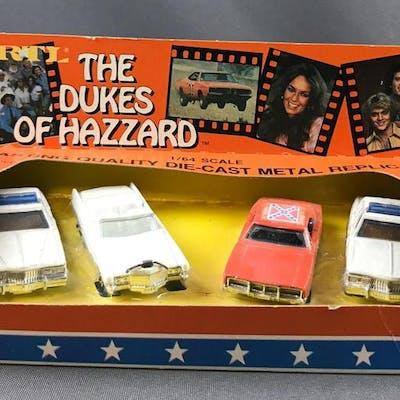 The Dukes Of Hazzard die cast metal replicas in original packaging