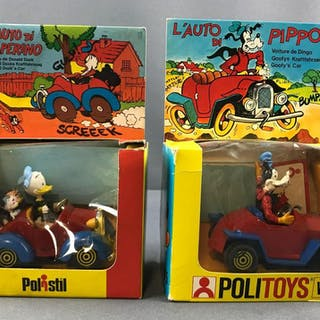 L auto di paperino Italian Disney cars in original packaging