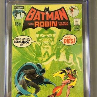 CGC Graded 7.5 DC Comics Batman with Robin No. 232 Comic Book
