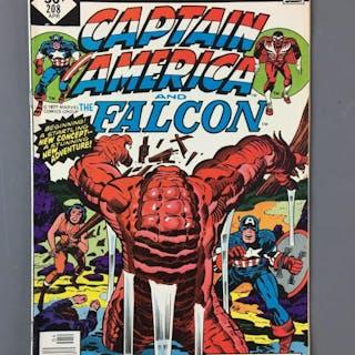 Marvel Comics Captain America and the Falcon No. 208 Comic