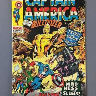 Marvel Comics Captain America the Power of Bulldozer No. 133 Comic
