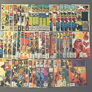 Group of 55 Marvel Comics X-Factor Comic Books