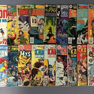 Group of 20 DC Comics Kamandi Comic Books and more
