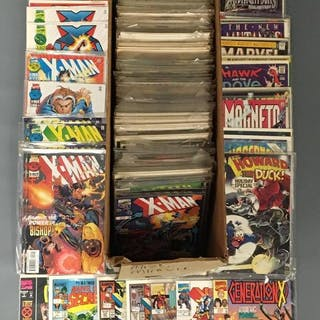 Group of 200+Miscellaneous Marvel Comics