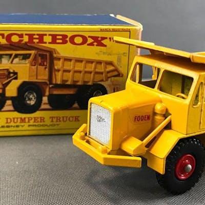 Matchbox King Size K-5 Foden Dumper Truck die cast vehicle with Original Box