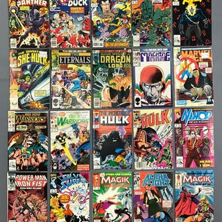 Group of 20 Marvel Comics Comic Books