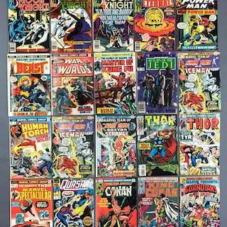 Group of 20 marvel comics comic books
