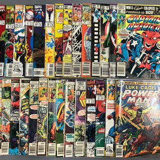 Group of 28 Marvel comics comic books