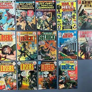 Group of 14 Marvel Comics, DC, Charlton Comics Comic Books