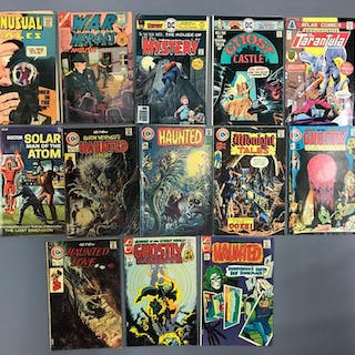 Group of 13 Charlton Comics, DC and other Comic Books