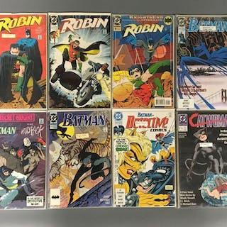 Group of 8 DC Comics Batman Comic Books
