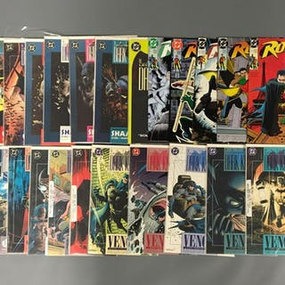 Group of 24 DC Comics Dark Knight Comic Books and more