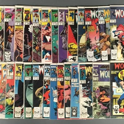 Group of 30 Marvel Comics Wolverine Comic Books