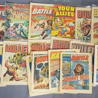Group of 16 misc Comic Book