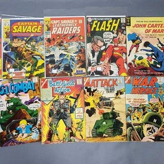 Group of 34 DC & Marvel Comic Books