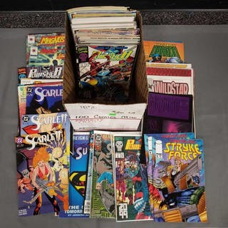 Group of approx 100 Comic Books