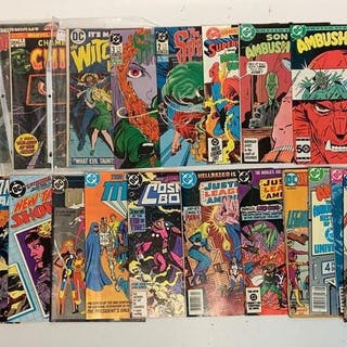 Group of 30 DC comic books
