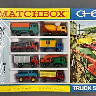Matchbox G-6 Truck Set die cast Vehicles new in original packaging