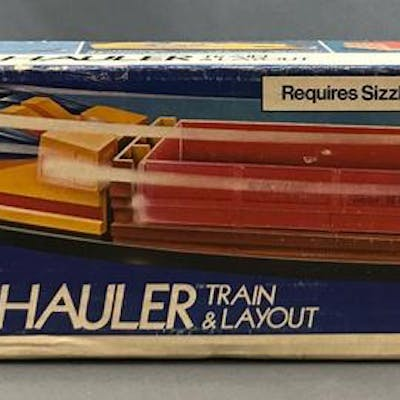 Mattel Hot Line High-Tail Hauler Train and Layout in original box