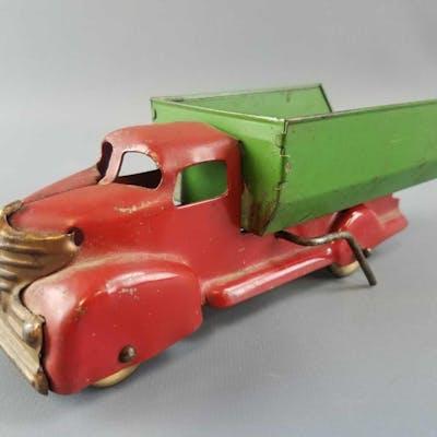 Wyandotte Pressed Steel Dump Truck.