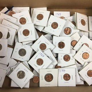Over 70 U.S. Coins.